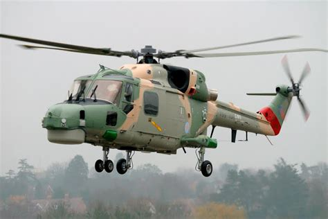 300 Feet To Meters by Westland Super Lynx 300 Helicopter
