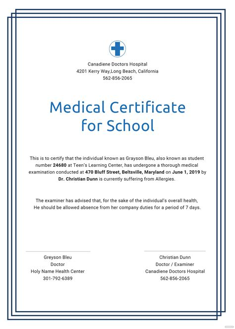 bonafide certificate format for school student doc archives new