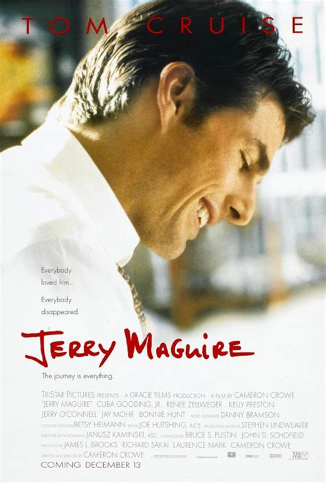 jerry maguire 1996 movie tom cruise cuba gooding jr jerry maguire movie poster imp awards