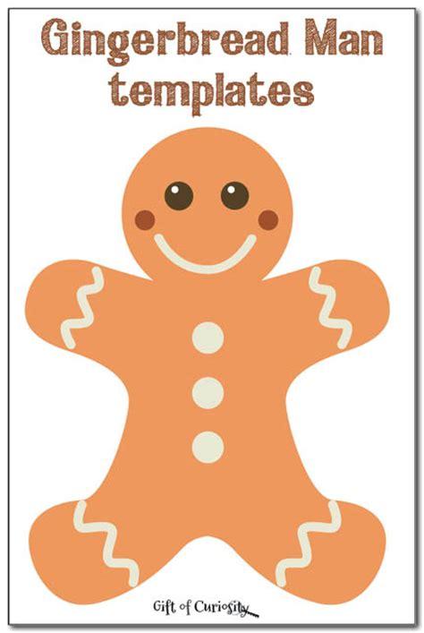 printable gingerbread man gingerbread man templates gift of curiosity