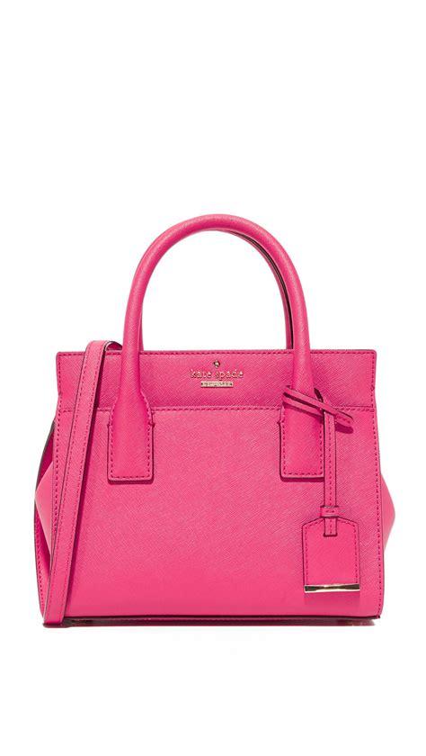 Mini Bag New kate spade new york mini cross bag in pink lyst