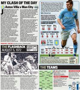 epl daily mail andy townsend s boot room aston villa v manchester city