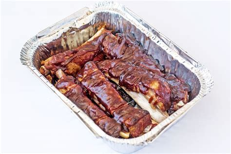 bbq pork ribs 5pc ma s pizza kitchen