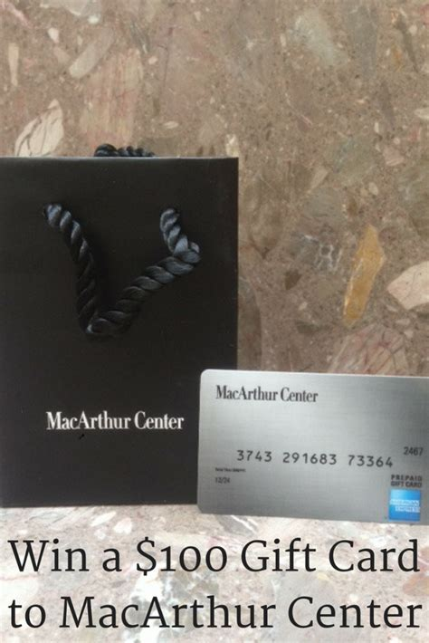 Reward Center Amazon Gift Card - last day win a 100 gift card to macarthur center