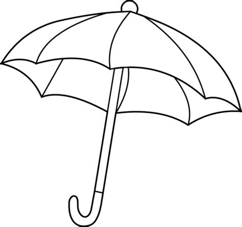 umbrella coloring pages printable coloring worksheet on umbrella clipart best