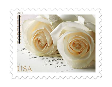 Wedding themed Forever Stamps   Wedding Stamps
