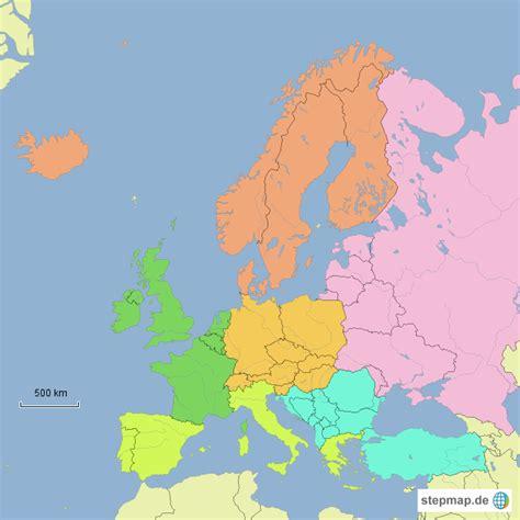wann wurde europa gegründet europa teilregionen annette4teachers landkarte f 252 r