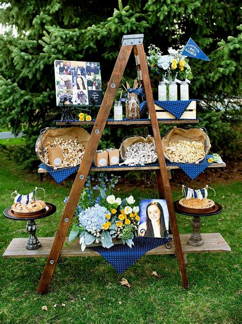 backyard graduation party outdoor graduation party ideas pinterest archives