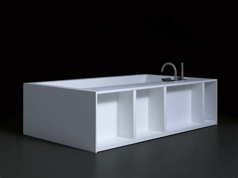 freestanding cristalplant 174 bathtub swim by boffi design