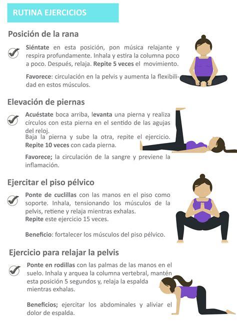 ejercicios de para hacer en casa prenatal