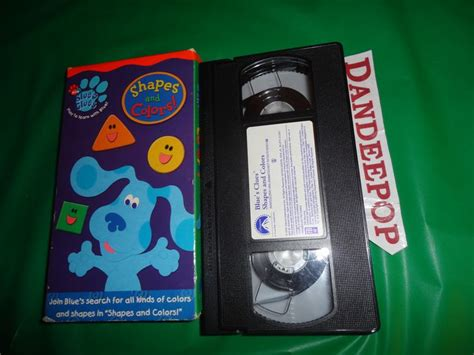 shapes and colors band blue s clues shapes and colors vhs 2003 find