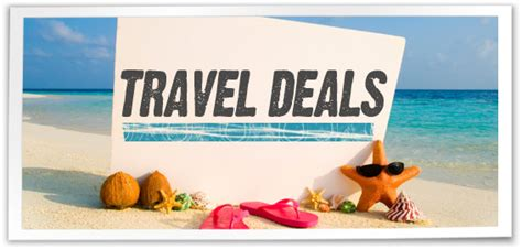 travel deals airfare cruises   updated daily
