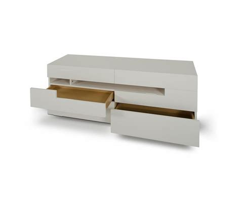 dreamfurniture cg05d modern led white lacquer dresser