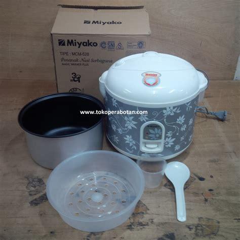 jual magic rice cooker miyako mcm 528 toko
