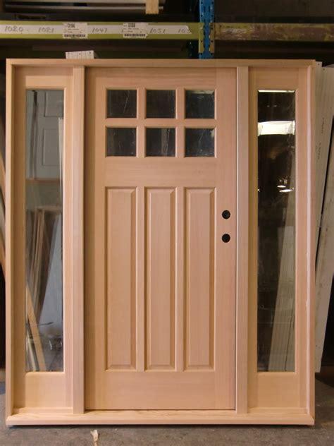 3 Panel Exterior Door Door Express Seattle Product Details Exterior 6 Lite 3 Panel Third Layout Stain Grade Fir