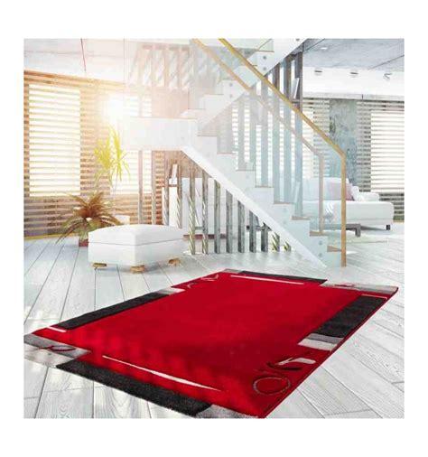 tappeto moderno rosso tappeto moderno lifestyle 132 rosso stile geometrico a