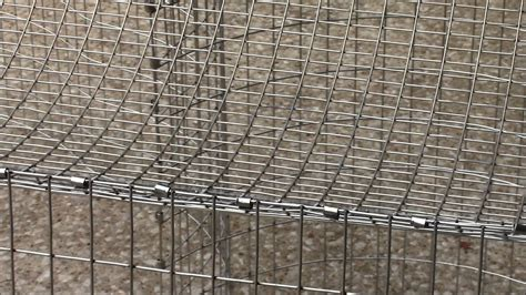 how to build an all wire rabbit cage youtube