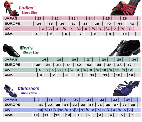 shoe size chart euro to uk european shoe size conversion to nz