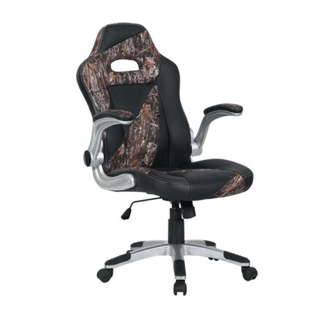 camo cing high chair leather camo office chair at mills fleet farm