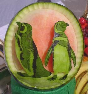 kc gourmetz art of watermelon carving