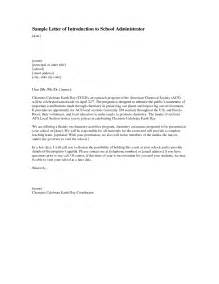 Introduction Letter Principal Letter Of Introduction Format Best Template Collection
