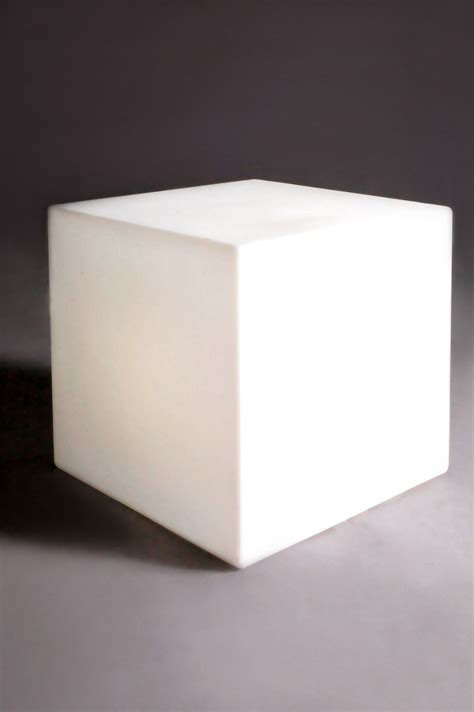 cubo table cubo indoor luminous coffee table 43 cm with cable