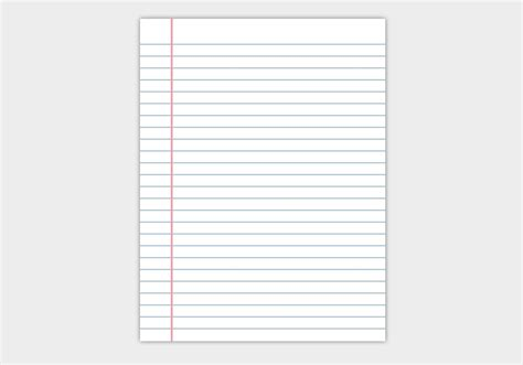 free notepad template best photos of editable notebook paper template free