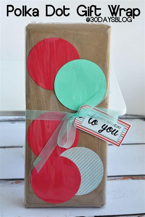 polka dot gift wrap diy polka dot gift wrap by 30 days the polka dot chair