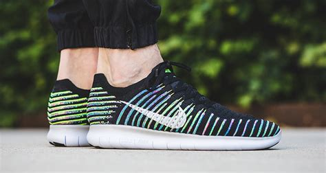 fly knit free run new nike free run flyknit sports quot multicolor quot stripes
