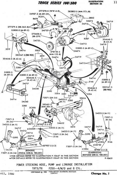 ford f250 parts diagram steering column wiring diagram for 1972 f250 steering
