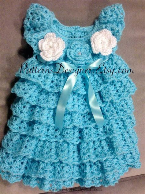 Dress Baby 0 12 Month crochet baby dress sale 0 12 months crochet baby layers