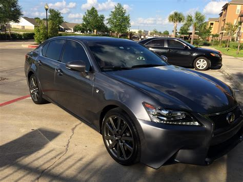 gray lexus tx fs lease 2014 lexus gs350 f sport grey red houston tx