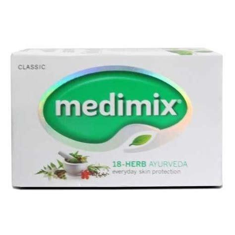 Sabun Medimix Ayurvedic Bath Soap 18 Herbs medimix ayurvedic soap 75gm 18 herbs pimple acne cure skin problems odour ebay