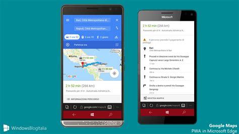 maps mobile in italiano come usare maps su windows mobile con la pwa ufficiale