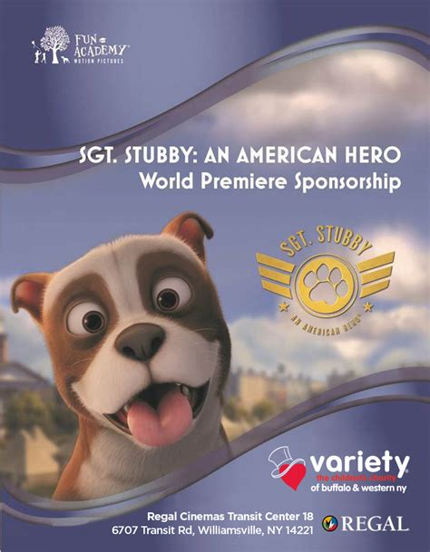 Sgt Stubby An American Rating Variety Club Sgt Stubby Screening Variety
