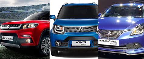 Maruti Suzuki New Upcoming Car Models Maruti Suzuki To Launch Two New Models In 2017 18 Newsmobile