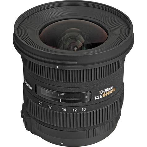 sigma 10 20mm f 3 5 ex dc hsm autofocus zoom lens 202306 b h