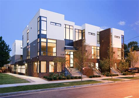 what is a townhome zuni townhomes urban architecture project