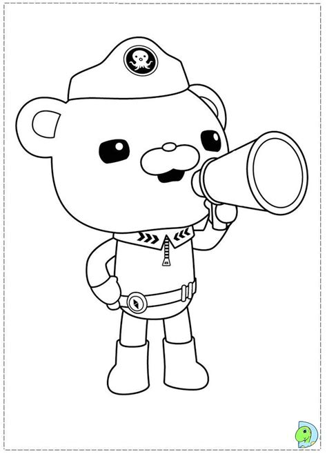 Free Coloring Pages Of Octonauts Peso Octonauts Colouring Pages
