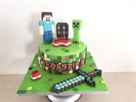 pastel decorado minecraft pastel minecraft decorado en fondant la natalina