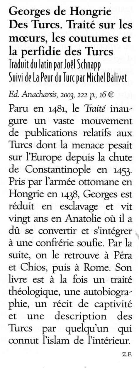 Éditions Anacharsis | Des Turcs