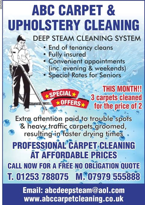 abc rug cleaning abc carpet cleaning 16 photos carpet cleaning 1 otley road lytham lancashire united
