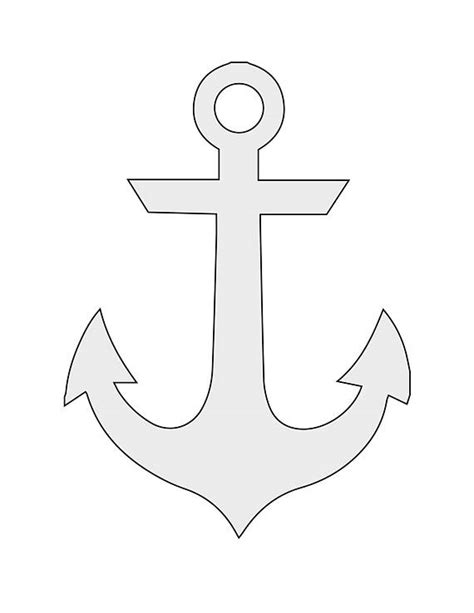 template anchor 7 quot w x 9 64 quot h string anchor pattern template from