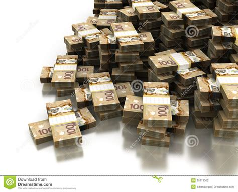 what is l stack stack of canadian dollar stock illustration illustration