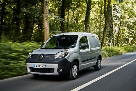 renault small renault kangoo ze small electric van now on sale with