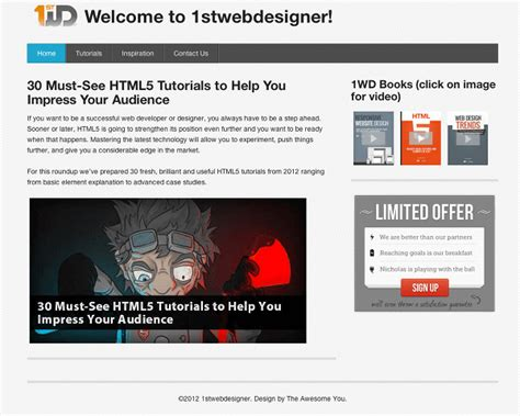 tutorial web design xp how to make a website responsive in just 15 minutes