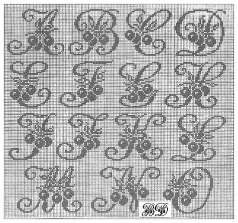 Modèles De Lettre à Broder Mod 232 Le Broderie Alphabet Gratuit