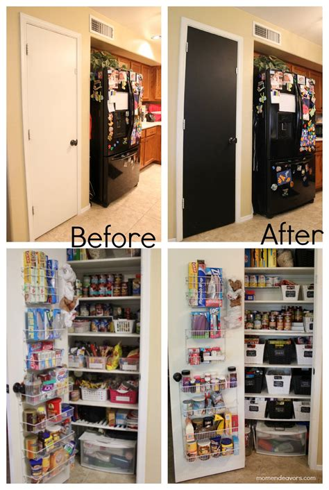 Kitchen Pantry Makeover by Pantry Organization Makeover
