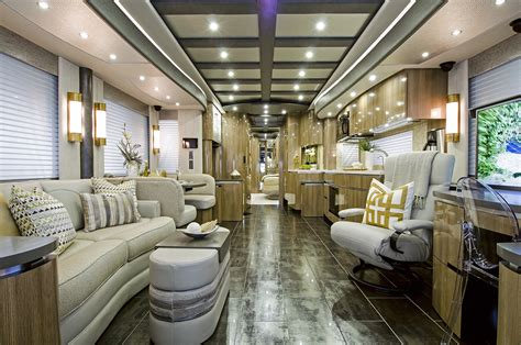 Current Trends In Home Decor by This Awesome 3 Million Rv Looks Like A Luxury Hotel On