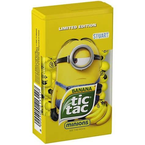Tictac Minion minion banana tic tacs 49g 50p primark hotukdeals